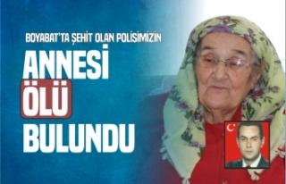 Boyabat'ta Şehit Olan Polisimizin Annesi, Evinde...
