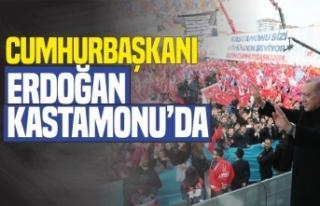 Cumhurbaşkanı Erdoğan Kastamonu'da Coşkuyla...