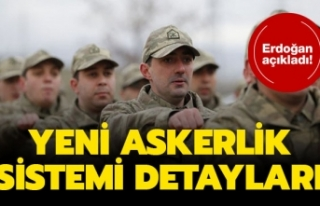 Erdoğan Açıkladı ; Kalıcı Bedelli Askerlik Geliyor,...