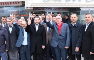 Sinop'ta Cumhur İttifakı buluşması