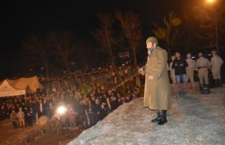 Ahmet Yenilmez, Çanakkale Zaferi'niBoyabatlılar'la...