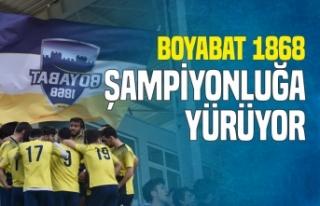 Boyabat 1868 Spor ,Türkelispor'u Net Skorla...