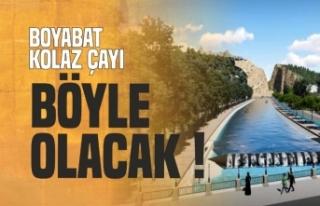 Boyabat'ın Butik Denizi Böyle Olacak !