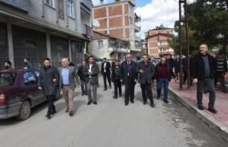 Hasan Kara,Mahalle Ziyaretlerini Sürdürüyor