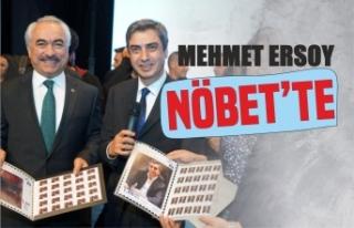 Mehmet Ersoy Necati Şaşmaz'a Teşekkür Etti