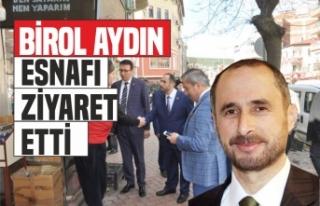 Saadet Partisi Boyabat Adayı Birol Aydın Vatandaşlarla...