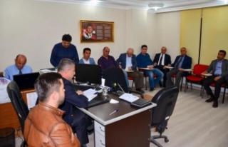 Boyabat Belediye Meclisi İlk Toplantısını Yaptı