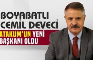 Boyabatlı Cemil Deveci Samsun Atakum Belediye Başkanı...
