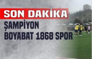 Şampiyon Boyabat 1868 Spor