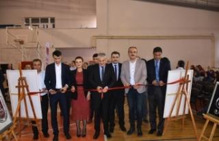 "Boyabat'a ""Proje ve Filografi Sergisi""..."