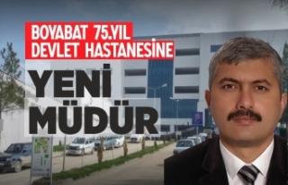 Boyabat Devlet Hastanesi Yeni Müdürü Belli Oldu
