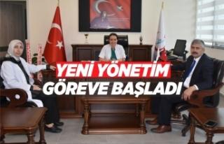 Boyabat Devlet Hastanesi Yeni Yönetimi Göreve Başladı