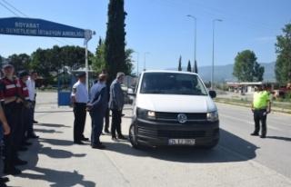 Kaymakam Aksoy, Trafik Kontrol ve Denetimlerine Katıldı