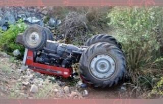 Traktör Devrildi 1 Ölü