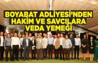 BOYABAT ADLİYESİ'NDEN TAYİNİ ÇIKAN HAKİM...