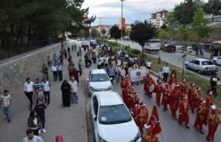 Boyabat'ta Mehteran Takımı Yürüyüş ve Konseri