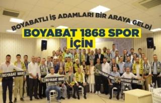 Boyabatlı İş Adamları Boyabat 1868 Spor İçin...