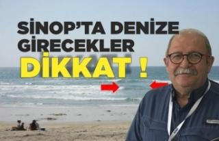 Prof.Dr.Şükrü Ersoy Sinop'ta Denize Girecekleri...