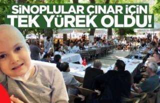 """Sinop """"Çınar"""" için kenetlendi"""