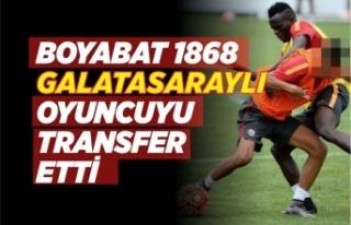 Boyabat 1868 Spor Galatasaray'da Oynayan Genç...