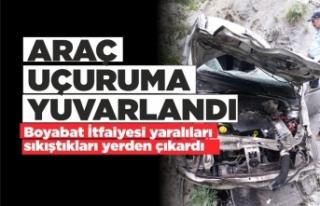 Hacımahmutlu Köyünde Trafik Kazası 5 Yaralı