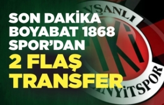 Tavşanlı Linyitspor'dan Boyabat'a 2 transfer...