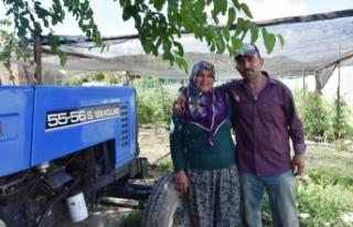 Topaç Çifti, Yerli Ve Doğal Sebze Üretiminde Boyabat'a...