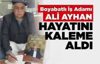 Boyabatlı İş Adamı Ali Ayhan'ın kitabı...