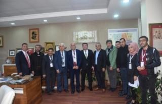 Gazetecilerden Sinoplu Müdür Ramazan Aşçı'ya...