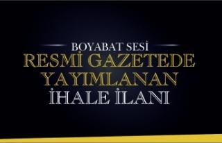 İHALE İLANI BOYABAT 75. YIL DEVLET HASTANESİ...