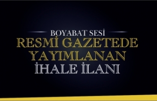 İHALE İLANI BOYABAT 75 YIL DEVLET HASTANESİ ONARIM...