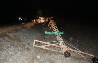 Akyörük Köyü Yolunda Trafik Kazası !
