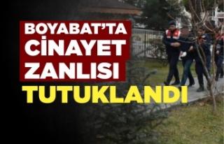 Son Dakika Boyabat'ta cinayet zanlısı tutuklandı...