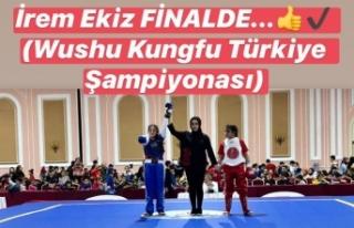 Boyabatlı İrem Ekiz Wushu Kungfu Türkiye Şampiyonasında...
