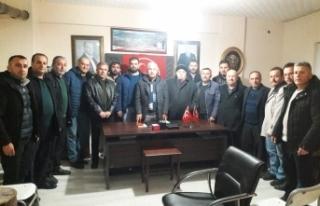 """MHP Boyabat ilçe Başkanı Erdoğan'dan""""Milli..."""