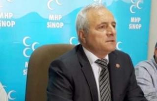 MHP İl Başkanı Çakır açıklama yaptı