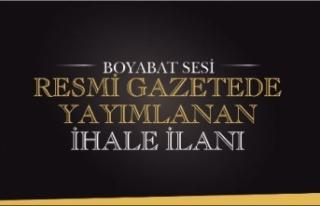 BOYABAT BELEDİYESİ MEZBAHA TESİSİNİN 3 (ÜÇ)...