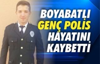 Boyabatlı Genç Polis Memuru Hayatını Kaybetti