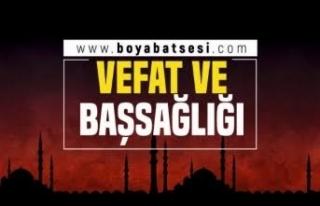 Bağlıca Köyü'nden Mehmet Yeğinoğlu Vefat...