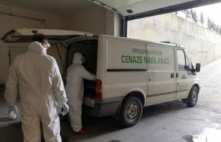 Koronavirüs kurbanı yaşlı adam Erfelek'te...