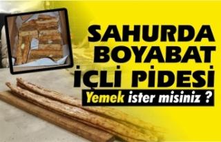 Nasip Ekmek Fırını içli pide yapımı ile hizmetinizde