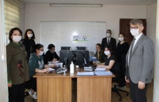 Sinop'ta 'Vefa Sağlık Destek Hattı'...