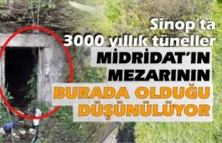 Sinop'taki tünellerin turizme kazandırılması...