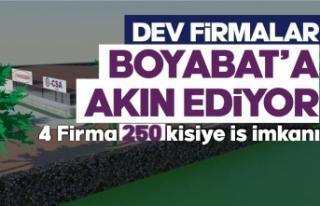 30 Ülkeye ihracat yapan dev firma Boyabat'a...