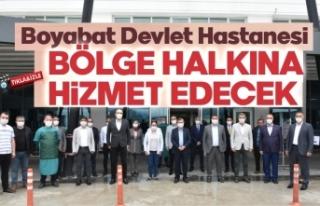 Milletvekili Maviş, Boyabat'ta ziyaret ve incelemelerde...
