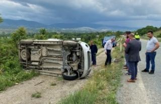 Boyabat Kastamonu yolundatrafik kazası: 1 ölü...