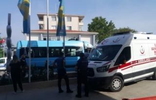 Korona testinden kaçan şahsı polis yakaladı
