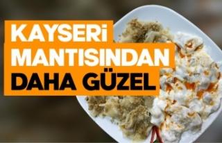 Ankara'da gazetecilerden Sinop mantısına tam...