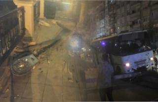 Boyabat Köprübaşında minibüs kazası !