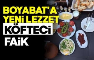Boyabat'ta ''Köfteci Faik''açıldı